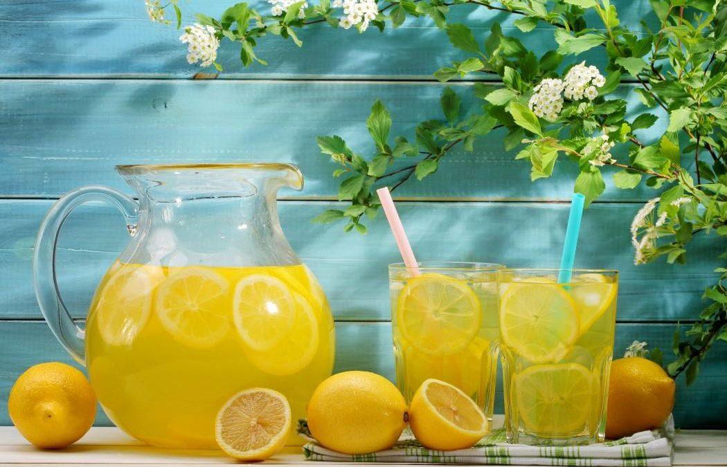 Zdravilna slana limonada